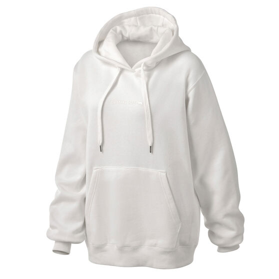 Running Bare Womens Legacy Pullover Hoodie, White, rebel_hi-res