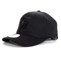 Las Vegas Raiders All Black 110 Snapback Cap, , rebel_hi-res