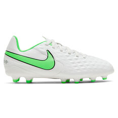 Nike Tiempo Legend VIII Club Kids Football Boots White US 10, White, rebel_hi-res