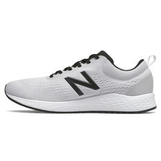 New Balance Fresh Foam Arishi v3 Mens Running Shoes Grey/Black US 7, Grey/Black, rebel_hi-res