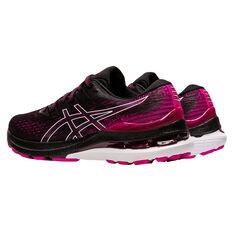 Asics GEL Kayano 28 Womens Running Shoes, Black/Pink, rebel_hi-res