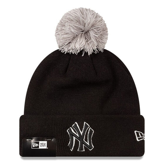 New York Yankees New Era Silver Knit Beanie, , rebel_hi-res