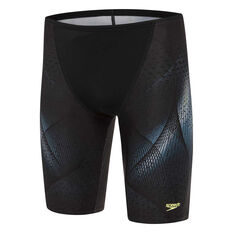 Speedo Mens Attrex Jammer Black 14, Black, rebel_hi-res