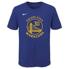 Nike Golden State Warriors Stephen Curry 2020/21 Kids Statement Tee, , rebel_hi-res