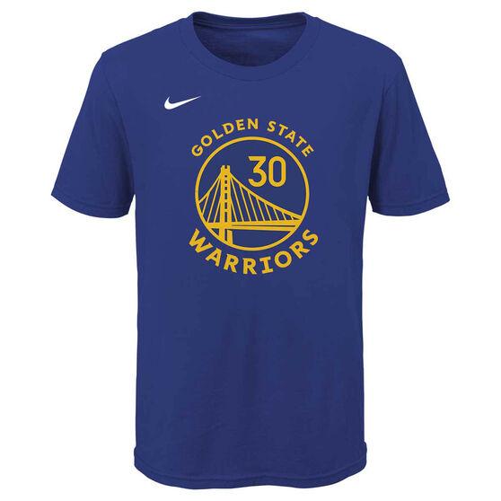 Nike Golden State Warriors Stephen Curry 2020/21 Kids Statement Tee S, , rebel_hi-res