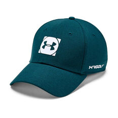 Under Armour Mens Official Tour Cap 3 Teal M / L, Teal, rebel_hi-res