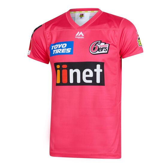 Sydney Sixers 2019/20 Mens BBL Jersey Magenta M, Magenta, rebel_hi-res