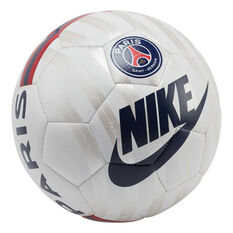 Nike Paris Saint Germain Prestige Soccer Ball White / Silver 4, White / Silver, rebel_hi-res
