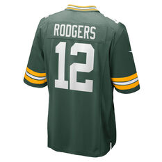 Nike Green Bay Packers Aaron Rodgers Mens Home Jersey, Green, rebel_hi-res