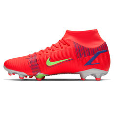 Nike Mercurial Superfly 8 Academy Football Boots Crimson US Mens 4 / Womens 5.5, Crimson, rebel_hi-res
