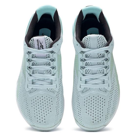 Reebok Nano X1 Womens Training Shoes, Blue/White, rebel_hi-res