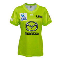 Sydney Thunder 2019/20 Womens WBBL Onfield Jersey Green 8, Green, rebel_hi-res