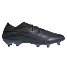 adidas Nemeziz .1 Football Boots Black US Mens 7 / Womens 8, Black, rebel_hi-res