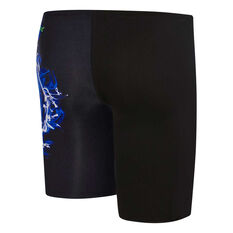Speedo Boys Smoulder Jammer Black 6, Black, rebel_hi-res
