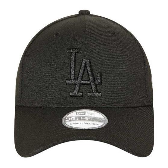 Los Angeles Dodgers New Era 39THIRTY Cap Black M/L, Black, rebel_hi-res