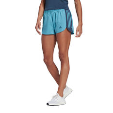 adidas Womens Run It Shorts Blue XS, Blue, rebel_hi-res