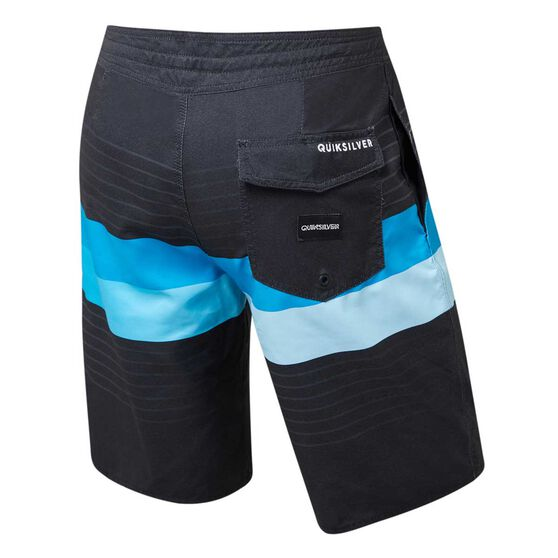Quiksilver Mens Pointbreak Board Shorts, Black, rebel_hi-res