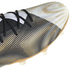 adidas Nemeziz .1 Football Boots White/Gold US Mens 12 / Womens 13, White/Gold, rebel_hi-res