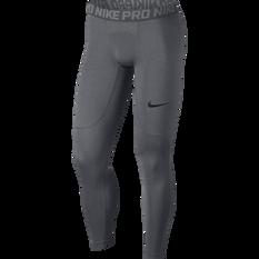 Nike Mens Pro Tights Carbon XS, Carbon, rebel_hi-res