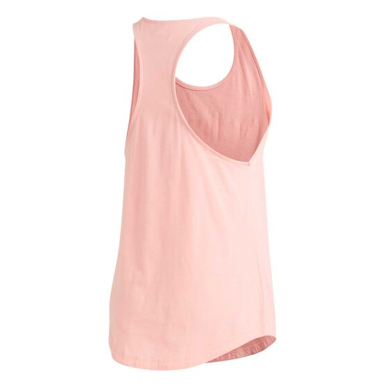 adidas Womens Essentials Linear Tank, Pink, rebel_hi-res