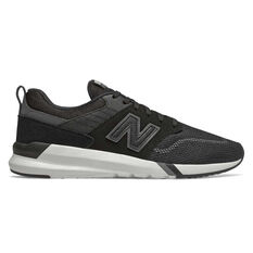a1d83ddfaccce1 New Balance 009 Mens Casual Shoes Black   White US 7