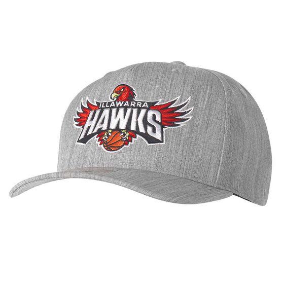 Illawarra Hawks Pinch Panel Cap, , rebel_hi-res