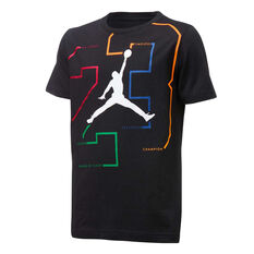 Nike Boys Jordan Path Of Greatness Tee, Black, rebel_hi-res