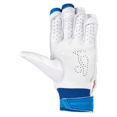 Kookaburra Pace Pro 5.0 Junior Cricket Batting Gloves, White, rebel_hi-res