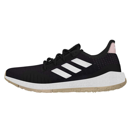 adidas Pulseboost HD S.RDY Womens Running Shoes, Black/Pink, rebel_hi-res
