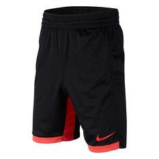 Nike Boys Dri-FIT Trophy Training Shorts Black / Red XS, Black / Red, rebel_hi-res