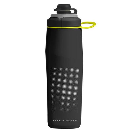 Camelbak Peak Fitness 700ml Water Bottle Black, Black, rebel_hi-res