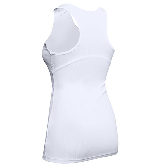 Under Armour Womens Victory Tank, White, rebel_hi-res