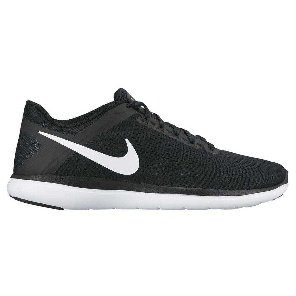 eaef5f4ecb45 Nike Flex 2016 RN Womens Running Shoes Black   White US 7