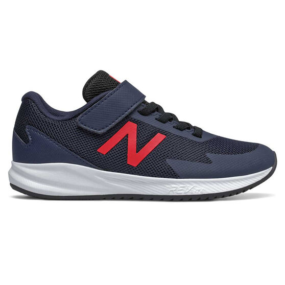 New Balance 611 Kids Casual Shoes, Navy/Red, rebel_hi-res
