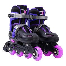 Goldcross GXC165 2 in 1 Inline Skates Purple US 3-6, Purple, rebel_hi-res