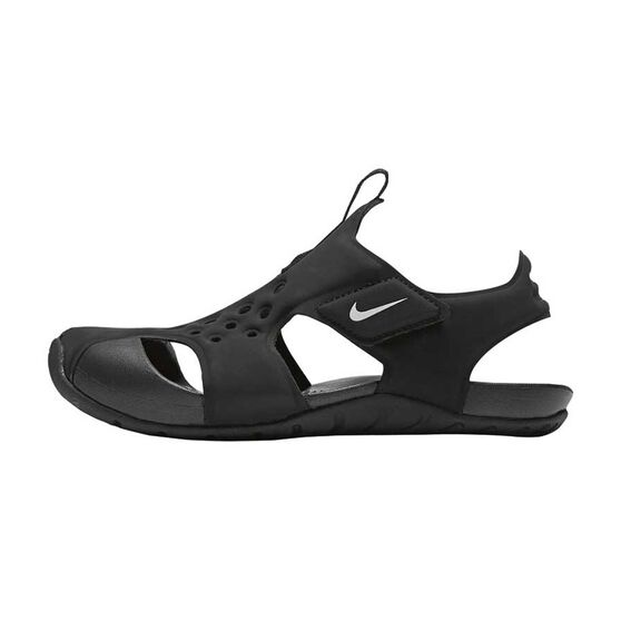 Nike Sunray Protect 2 Junior Kids Sandals Black   White US 12 ...