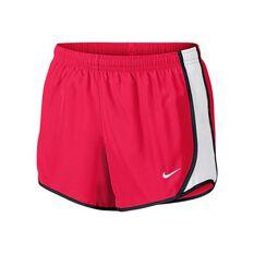 Nike Girls Dry Tempo Shorts Pink / White / Black XS, Pink / White / Black, rebel_hi-res