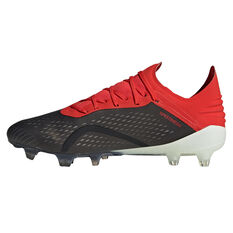 adidas X 18.1 Mens Football Boots Black / White US 7, Black / White, rebel_hi-res