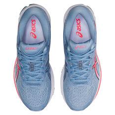 Asics GT 1000 10 D Womens Running Shoes, Blue/Coral, rebel_hi-res