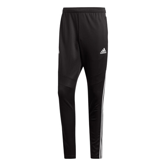 adidas Mens Tango Training Pants, Black / White, rebel_hi-res
