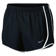Nike Girls Dry Tempo Shorts Black / White XS, Black / White, rebel_hi-res
