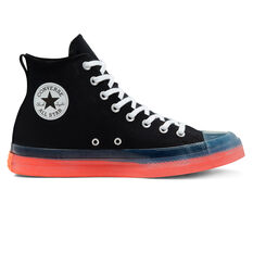Converse Chuck Taylor All Star Stretch Canvas Casual Shoes Black US 3, Black, rebel_hi-res