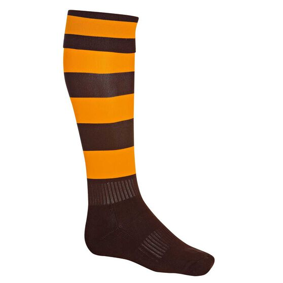Burley Hawthorne Hawks Football Socks, , rebel_hi-res