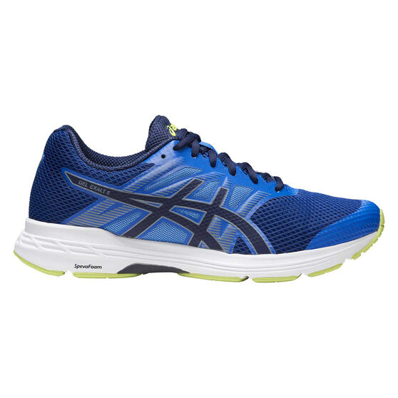 Asics GEL Exalt 5 Mens Running Shoes, Blue / White, rebel_hi-res