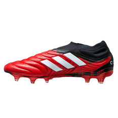 adidas Copa 20+ Football Boots Red / White US Mens 5 / Womens 6, Red / White, rebel_hi-res
