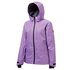 Tahwalhi Womens Lake Louise Ski Jacket Purple 8, Purple, rebel_hi-res
