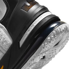 Nike LeBron XVIII Home Basketball Shoes, White, rebel_hi-res