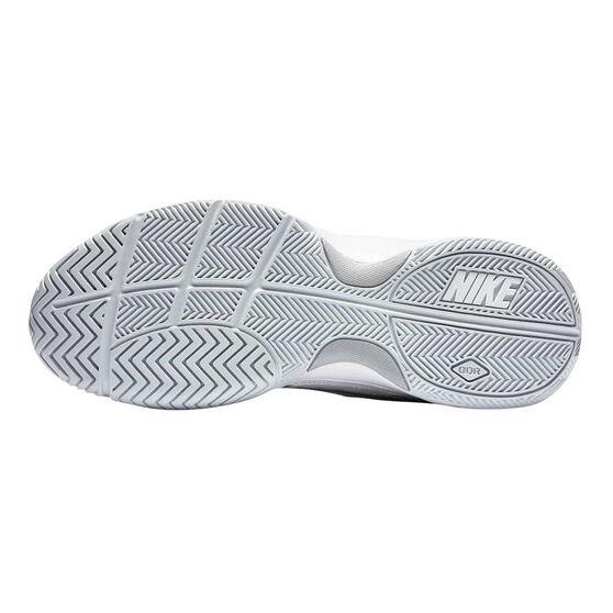 Nike Court Lite Womens Tennis Shoes, White / Silver, rebel_hi-res