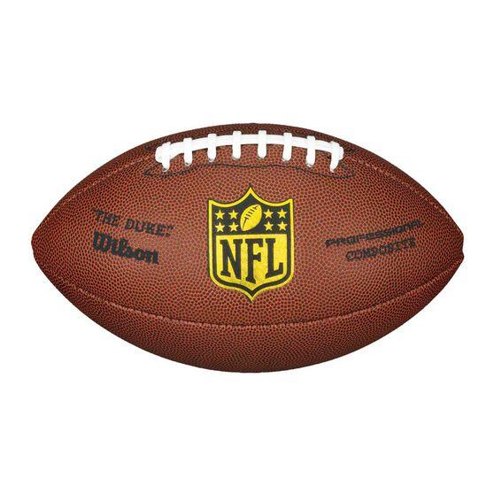 Wilson NFL Duke Replica Football Brown / white 5, , rebel_hi-res