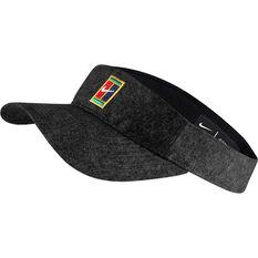 Nike Aerobill H86 Visor Black OSFA, Black, rebel_hi-res